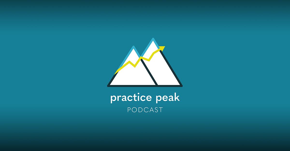 Practice Peak Podcast logo
